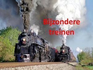 bijzondere treinen